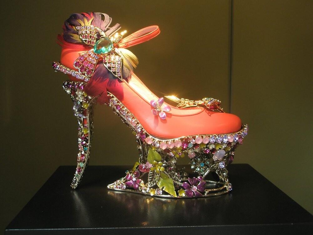 Art shoe in Paris by ablokl07