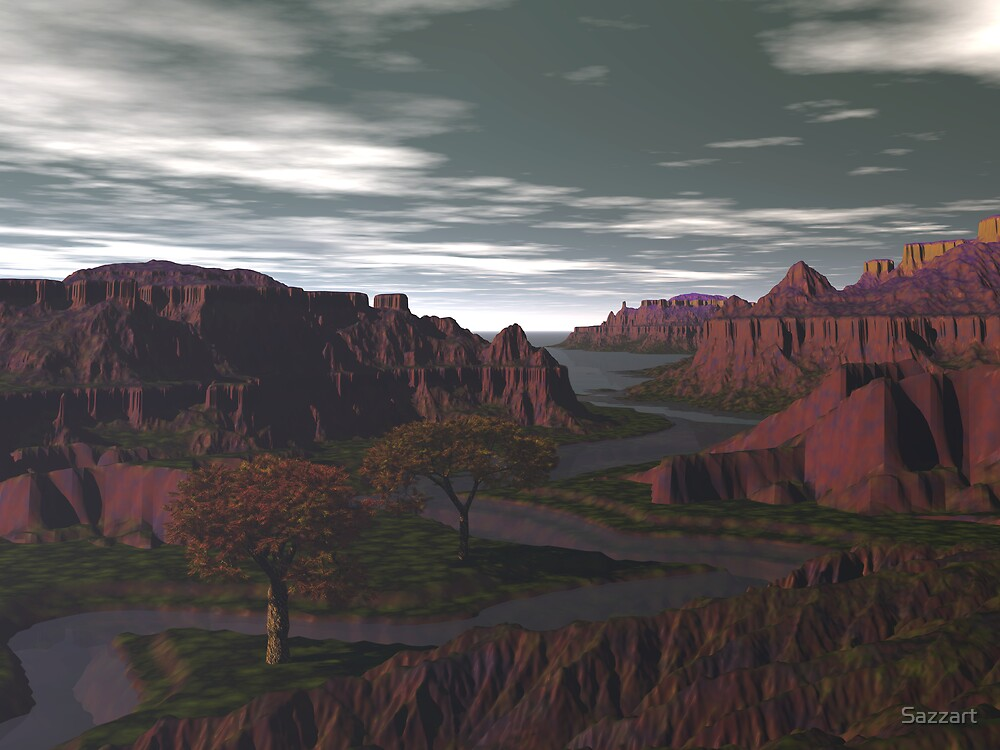 Erahcul Cascades3 by Sazzart