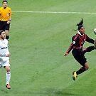 Ronaldinho is flying! by giuseppe maffioli