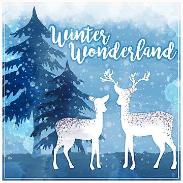 Winter Wonderland Illustration by tato69
