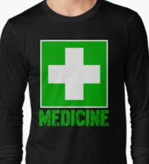 Marijuana is Medicine Long Sleeve T-Shirt