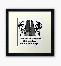 Visit California Framed Print