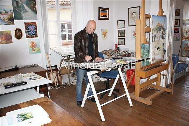 almeida coval working by Almeida Coval