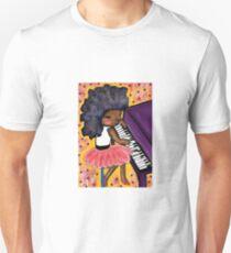 Purple Piano - Beatrice Ajayi Unisex T-Shirt