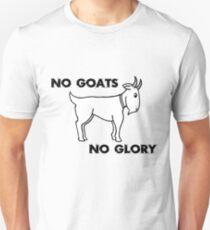 No Goats No Glory Men Who Stare At Goats Unisex T-Shirt