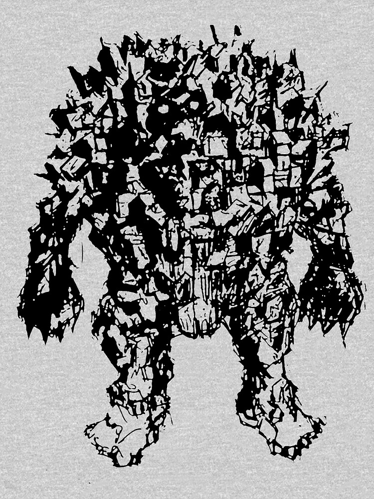 Town Golem (ink version) by Linespider5