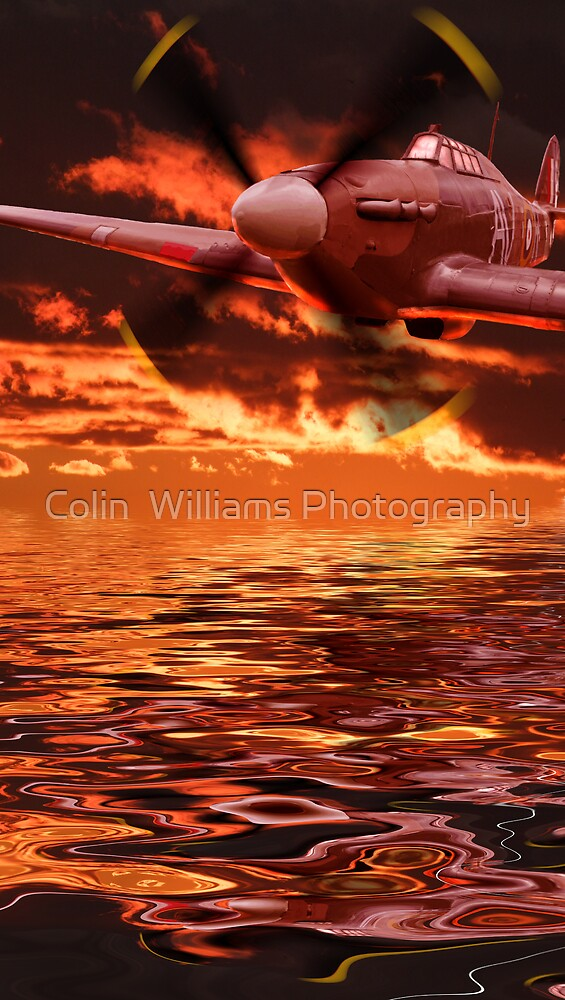 Hurricane Sundown - The Terminator !! by Colin  Williams Photography