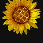 Sunflower waffle mmmh delicious by AsKartongs