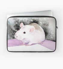 Star, the fancy rat. Laptop Sleeve