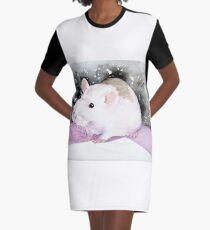 Star, the fancy rat. Graphic T-Shirt Dress
