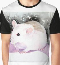 Star, the fancy rat. Graphic T-Shirt