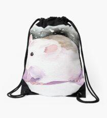Star, the fancy rat. Drawstring Bag