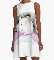 Star, the fancy rat. A-Line Dress