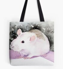 Star, the fancy rat. Tote Bag