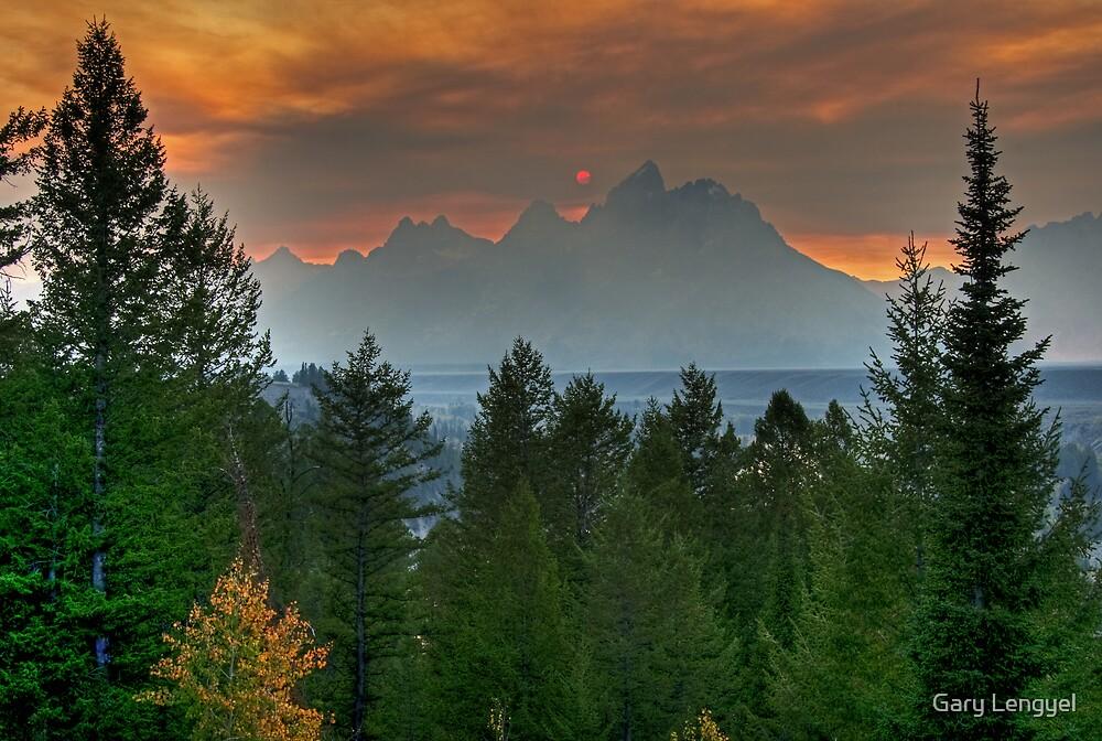 Teton Sunset by Gary Lengyel