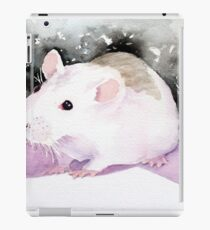 Star, the fancy rat. iPad Case/Skin