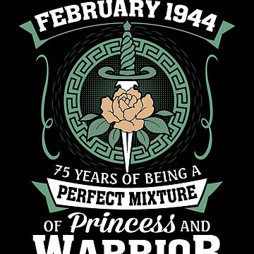 February 1944 Perfect Mixture Of Princess And Warrior by lavatarnt