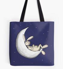 Crescent moon nap Tote Bag