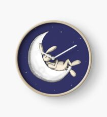 Crescent moon nap Clock