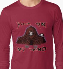 GRIM REAPER AND SIDE KICK/ YOUR ON MY MIND Long Sleeve T-Shirt