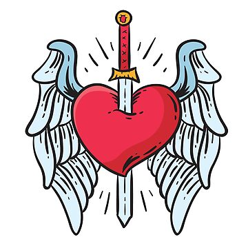 Wings Heart And Sword by tato69