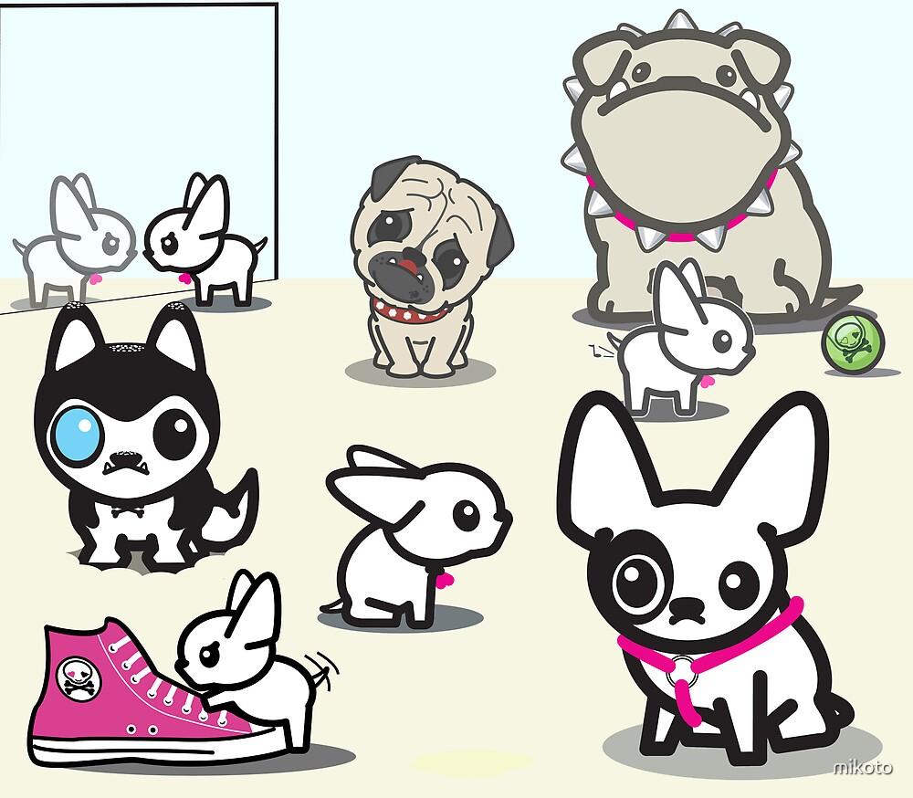 mikoto's Puppies by mikoto
