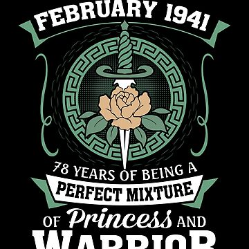 February 1941 Perfect Mixture Of Princess And Warrior by lavatarnt