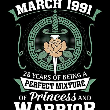 March 1991 Perfect Mixture Of Princess And Warrior by lavatarnt