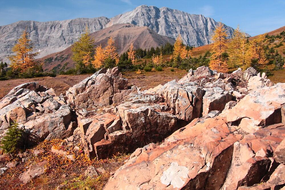 Autumnal mounts by zumi