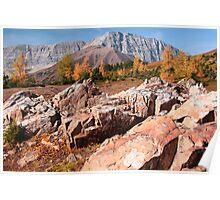 Autumnal mounts Poster