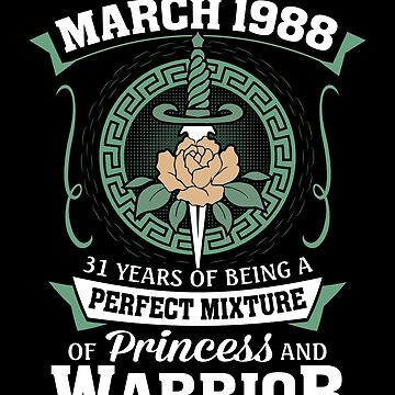 March 1988 Perfect Mixture Of Princess And Warrior by lavatarnt