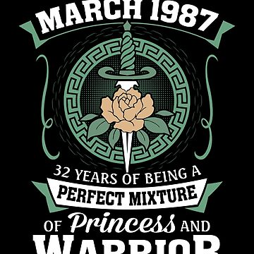 March 1987 Perfect Mixture Of Princess And Warrior by lavatarnt