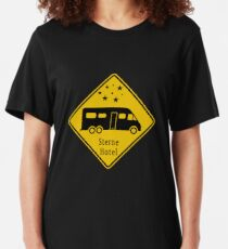 Star hotel motorhome Slim Fit T-Shirt