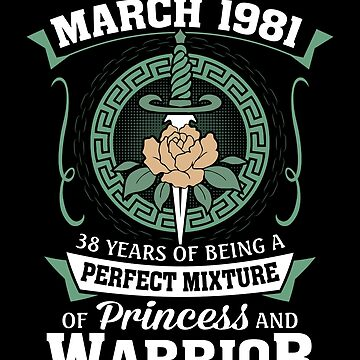 March 1981 Perfect Mixture Of Princess And Warrior by lavatarnt