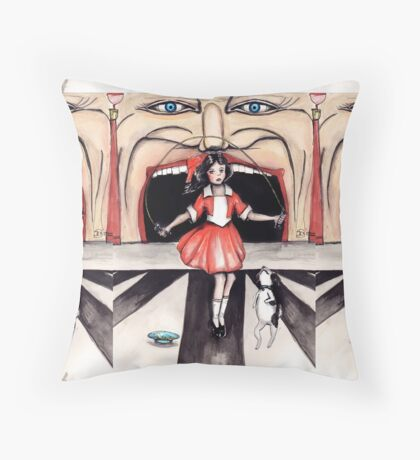 Iconic Melbourne Throw Pillow