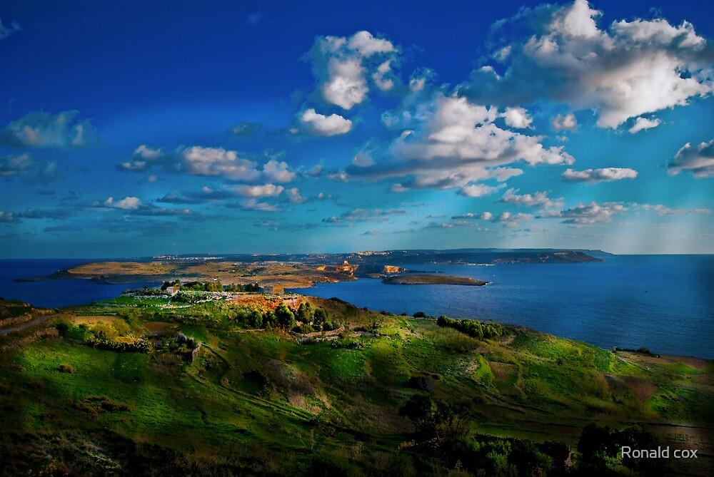 Malta&Comino by Ronald cox
