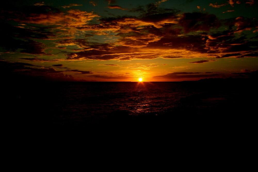caribbean twilight by alineB