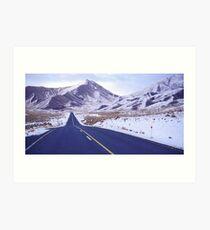 Lindis Pass Art Print
