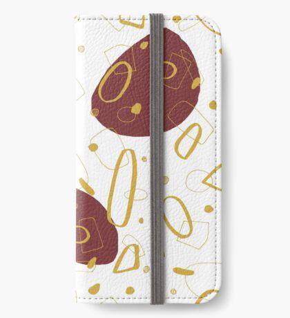 Doodle Pattern 01 #redbubble #doodle #pattern iPhone Wallet