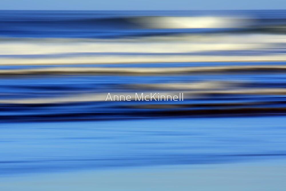 Ocean in Motion #13 by Anne McKinnell