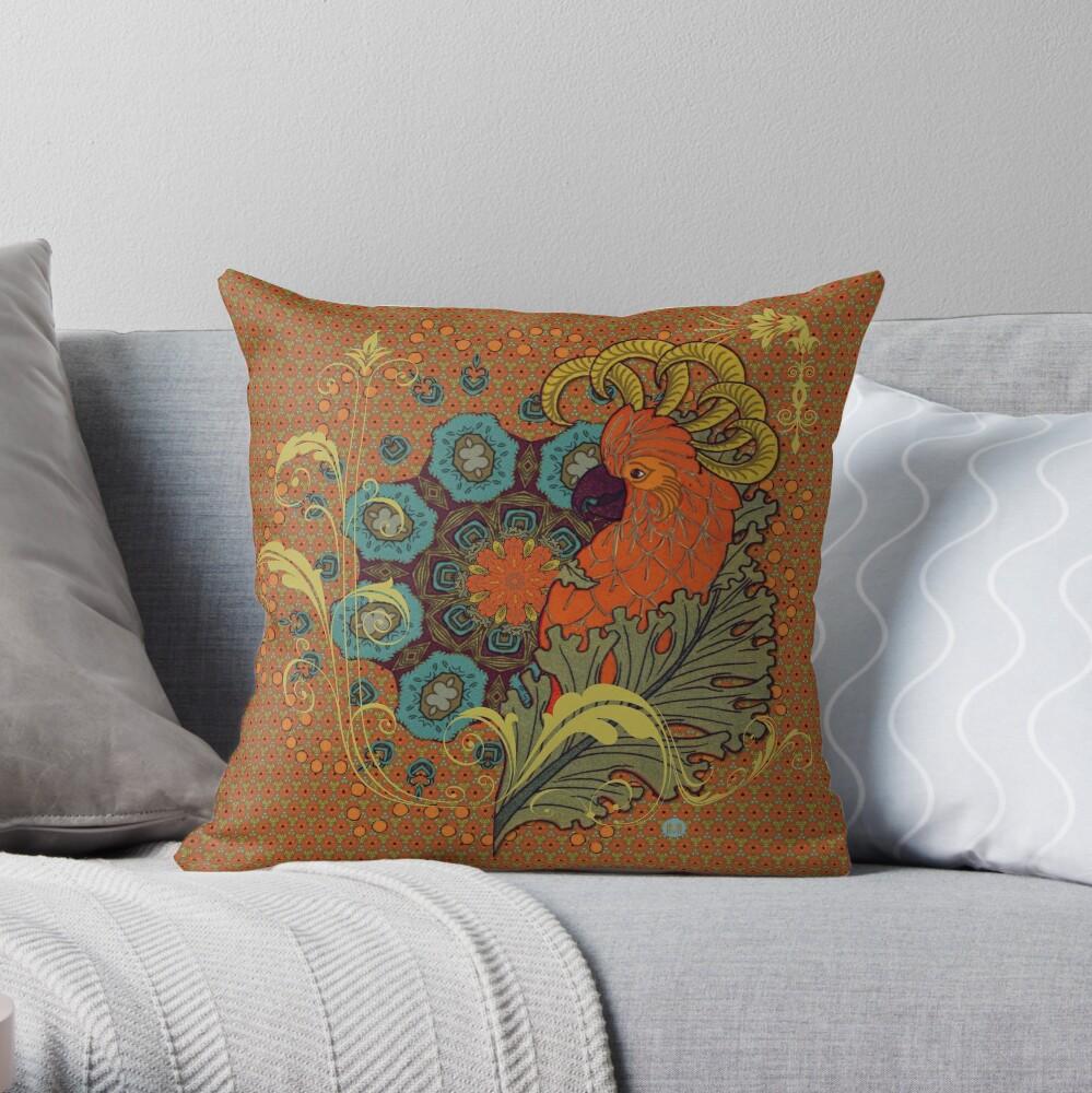 Coussin «Tangerine Parrot»