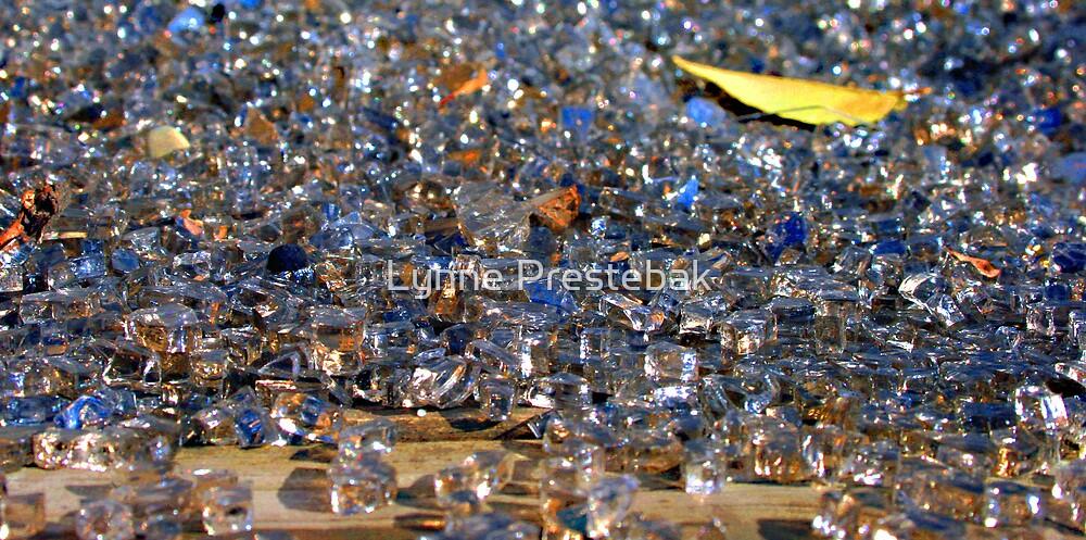 ...i'm walking on broken glass... by Lynne Prestebak