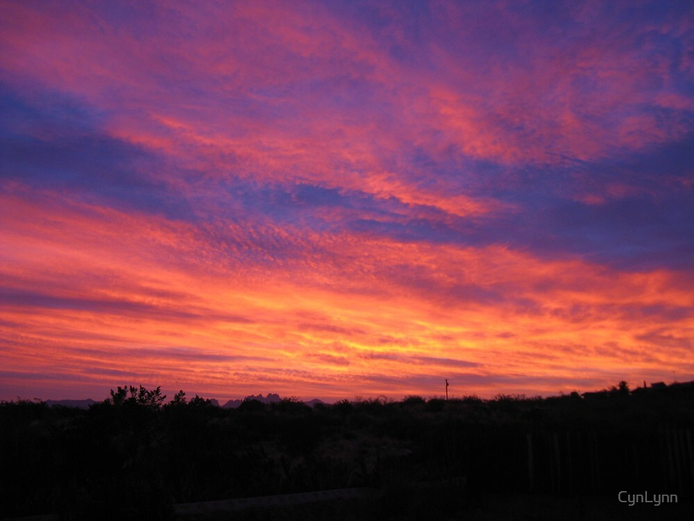 Sunrise, Las Cruces, New Mexico by CynLynn
