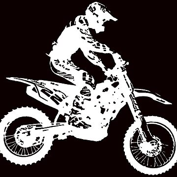 Motocross white by freaks13