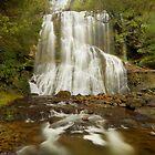 Bridal Veil Falls, Tasmania by Kevin McGennan