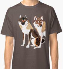 Shikoku Inu pair Classic T-Shirt