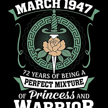 March 1947 Perfect Mixture Of Princess And Warrior by lavatarnt