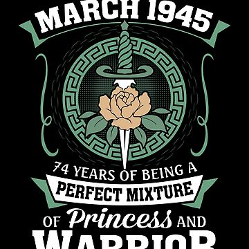 March 1945 Perfect Mixture Of Princess And Warrior by lavatarnt