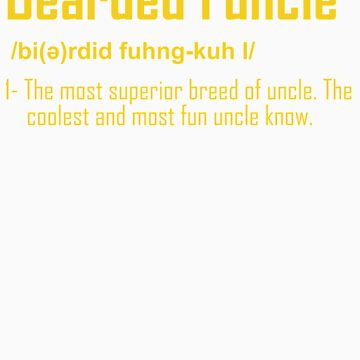 Dad Beard Gifts Bearded Funcle Funny Beareded Uncle Gifts by doggopupper
