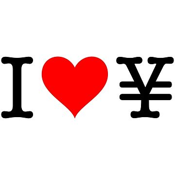 I Love Yen by fourretout